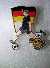 COLOGNE Hard Rock Cafe Pin 2006 Worlds Soccer Cup Series with Flag