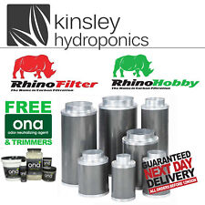 More details for rhino pro & hobby filter 4 5 6 8 10 12 inch carbon hydroponics free items