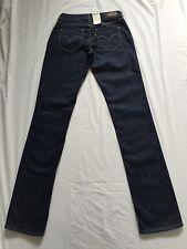 Levis womans bold curve straight dk jeans bleu, W26 L34 bnwt (110014)