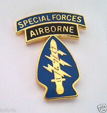 SPECIAL FORCES AIRBORNE  Military Veteran US ARMY Hat Pin 14481 HO
