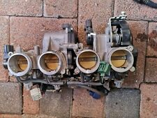 YAMAHA R1 YZF-R1 2007 2008 4C8 THROTTLE BODY COMPLETE WITH TPS & INJECTORS VT07