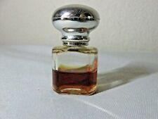 Vintage Max Factor Epris Perfume Miniature Mini Size Bottle .12 oz 40% Full