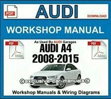 Audi A4 PDF Workshop Service & Repair Manual 2008 to 2015