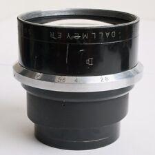 "A Rare Vintage Dallmeyer Super-Six Anastigmat 6"" inch  f1.9 Fast Lens 152mm"