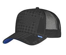 """Djinns-High fitted TRUCKER CAP """"CAMOU"""" (Black)"""