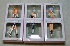 "New Evangelion Collection Figs""Take care of yourself"" Complete Set Usa Seller"