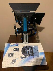 Wondlan camera rig Handle C-Cage + Follow Focus + Matte Box+ Handle