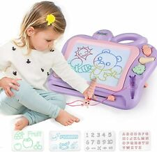 Kids Magnetic Drawing Board Large Magna Doodle Erasable Pad Toddler Toys Gifts
