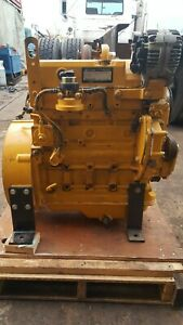 John Deere 4024T Engine