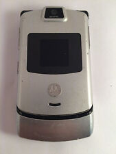 Motorola Razr V3m (Alltel) Silver Cell Phone
