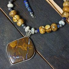 Echtschmuck-Halsketten & -Anhänger mit Bewusstseins-Perlen