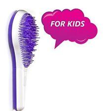 Michel Mercier Kids Detangling Brush White/Purple - For Thick Hair
