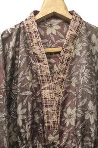 Pure Silk Kaftan Kaftaan Kaaftan Night Robe Long Gown Dress Tunic Woman KFN1093