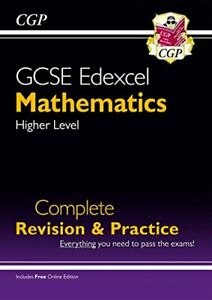 New 2021 GCSE Maths Edexcel Complete Revision & Practice: Higher... by CGP Books