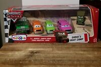 Disney Pixar Cars World of Cars Toy's R Us Exclusive Sarge's Boot Camp 5 Pack