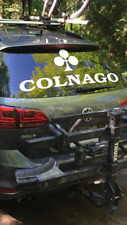 "New White Colnago Logo Decal, Sticker, Vinyl 40"" X 14.5"""