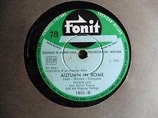 Peggy Lee - Johnny guitar / Autumn in Rome - 78 giri