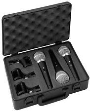 3 Vocal Mikrofone img Stage Line DM-3Set Dynamisches Vocal Mikrofon Set Mikro