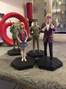 DR WHO EAGLEMOSS THIRD DOCTOR COMPANION SET