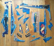 STERN TERMINATOR 3 PINBALL MACHINE LOT OF NOS PLASTICS. NEARLY COMPLETE