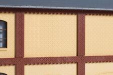 Auhagen kit 80626 NEW HO 8 WALLS 2532D CREAM BRICK