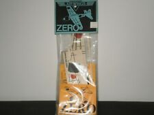"AIR WINGS BALSA WOOD ""ZERO"" MODEL KIT FACTORY SEALED 1992"