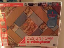 Quick Quilt FOAMOLOGY DESIGN FOAM Sticky Base 24 X 18 X 2 Criss Cross.  ONE TILE