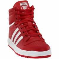 adidas Top Ten Hi (Little Kid/Big Kid) Sneakers Casual   Sneakers Red Boys -