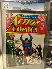 Action Comics #423  CGC 9.8  White Pages Highest graded Copy