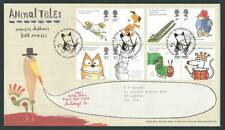 29102) UK - GREAT BRITAIN 2006 FDC Children books 4x2v