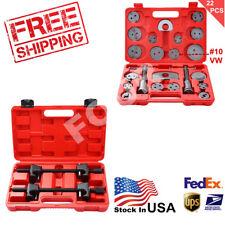 22pc Disc Brake Caliper Tool Set +2pcs Macpherson Spring Compressor US Free Ship