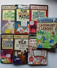 Assorted Book Bundle Horrible Histories, Horrible Science, Foul Football.