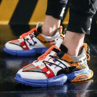 Mens Fashion Retro Running Sneakers Athletic Walking Jogging Sports Casual Shoes