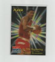 HAKEEM OLAJUWON 1996 FLEER/SKYBOX USA BASKETBALL SPECIAL ISSUE CARD #5