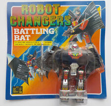 VINTAGE 1980s CONVERTORS ROBOT CHANGERS TAKATOKU BATTLING BAT TRANSFORMER MOC