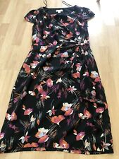 Monsoon Size 10 Pencil Dress Floral Party