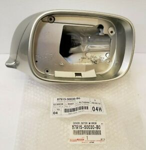 LEXUS OEM FACTORY PASSENGER SIDE OUTER MIRROR COVER 2001-2006 LS430 SILVER (1C0)