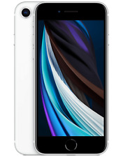 APPLE IPHONE SE 2 FACTORY UNLOCKED 64GB WHITE A2296 PHONE ONLY