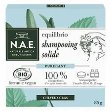 N.A.E. Shampooing Solide Certifié Bio - Purifiant Cheveux Gras 85 g Zero Dechet
