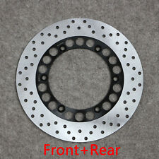 Full Set Front Rear Brake Disc Rotor Fit For Yamaha RZ 250 350 R RR RZR250 FJ600