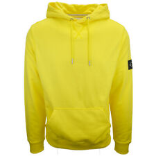 Calvin Klein Jeans Men's Solar Yellow Monogram Pullover Hoodie