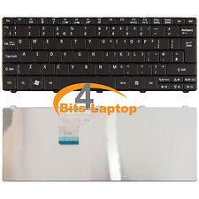 ACER ASPIRE ONE 532H d260-1392 D255-2DQKK laptop Tastiera UK Nera pk130d34a08