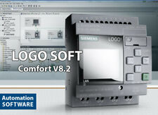LOGO SOFT PLC SIEMENS Comfort V8.2.1 activated software LIFETIME LOGO! Automate