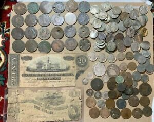 1802 1864 Large Culls Type Large Cent Lot Seated Holed Group Fair Poor Fillers