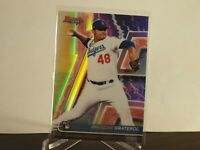 2020 Bowman Best Los Angeles Dodgers Brusdar Graterol Refractor RC Rookie