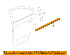 Chevrolet GM OEM Sonic Rear Window/Door-Belt Molding Weatherstrip Right 95147491