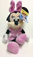 """Disney Minnie Mouse Plush Doll 11"""" Mickey and the Roadster Racers BNWT"""
