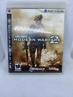 Call of Duty: Modern Warfare 2 (PlayStation 3, 2009) Pre-owned Tested No Manual