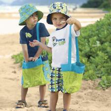 Bolsa Malla De Playa Niños Juguetes Toalla de ropa de playa de arena de distancia bolsa bolsa de almacenamiento de bebé de juguete