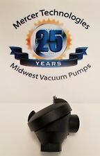 "Large Cast Iron Screw Cover Thermocouple Head w/duplex terminals 3/4"" x 3/4"" NPT"